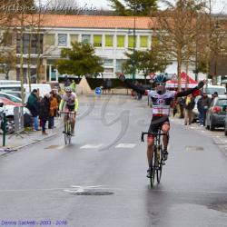 Le  25 Mars 2018   Barbezieux (16) PC   Victoire d'Adrien Roy (AC4B) 1 er  D2  .  Victoire de Benjamin Didou (AC4B)  2 ème scratch et 1 er D1 , 22 ème Mateo Denechaud (AC4B) ,24 ème Cédric Rateau (AC4B), Jean-Philippe Faure AB