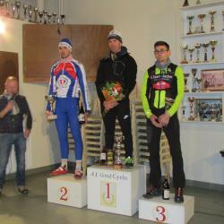 Le 08/01/2017 Cyclo-cross de Gond-Pontouvre(16)  10 ème Ludovic Nadon (AC4B).