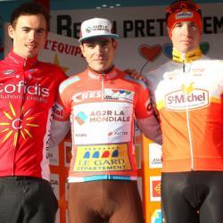 Victoire Tony Gallopin (AG2R La Mondiale)au général. la cinquième et dernière étape de l'Etoile de Bessèges (2.1) 2 ème Yoann Paillot (St-Michel-Auber 93) au contre-la-montre individuel et termine 3 ème au Général à20 s.