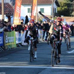 Le 10/02/2018 Ronde du Pays Basque : Clément Saint-Martin 1er  (Océane Top 16)    2 ème  BELLICAUD Jeremy ( OCEANE TOP 16 ) . 20 ème Ludovic Nadon (Océane Top 16 / AC4B)