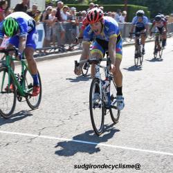Le 05/08/2018  Tour des Landes - Et. 2 B   Saint-Vincent-de-Paul .  Victoire d'Alexis Diligeart  (Mixte Team Cycliste Chateaubernard-AC4B)  ,   Classement général final : 1 Lucien CAPOT  (Mixte Team Cycliste Chateaubernard-AC4B) .....