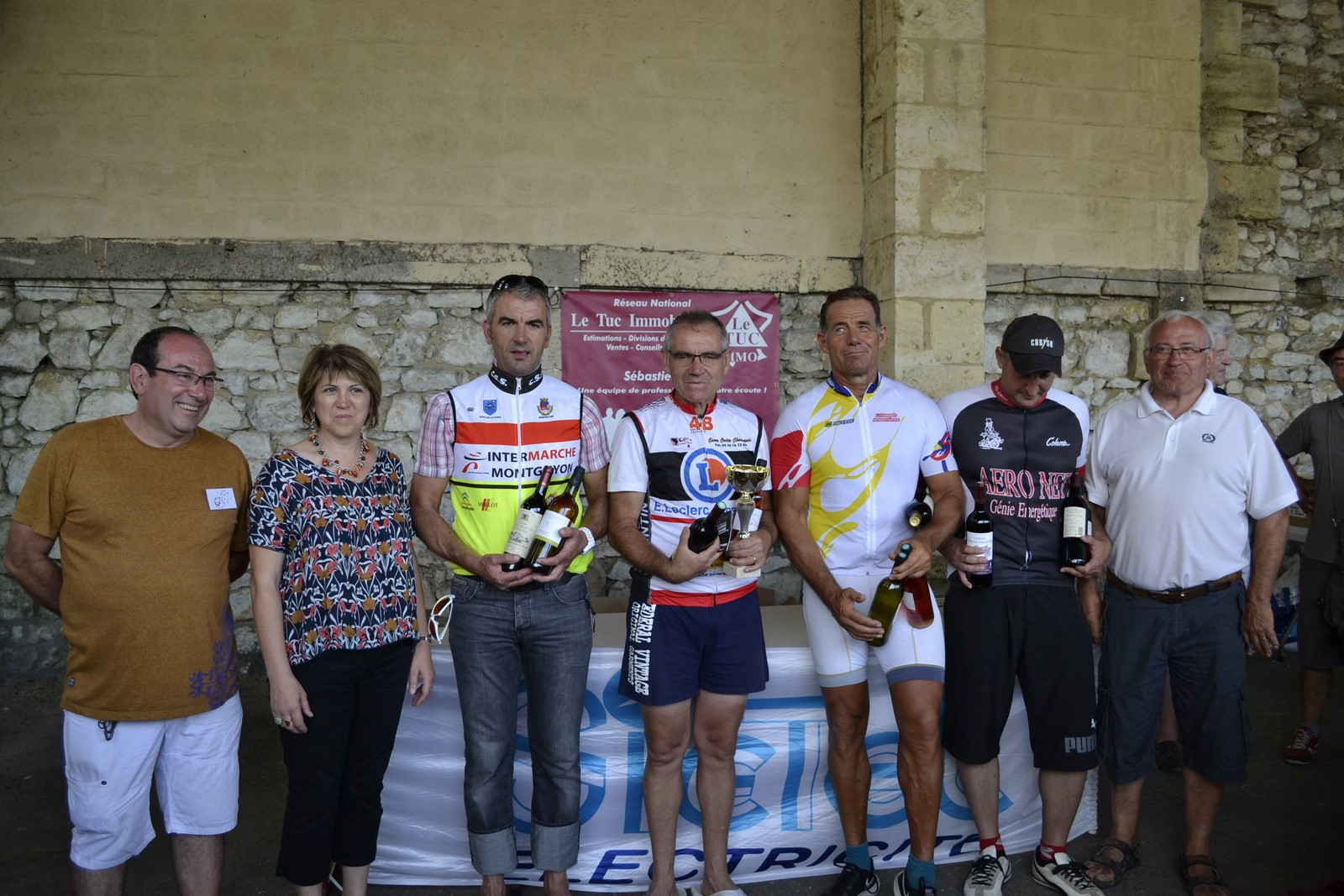 Le Samedi 30 Juillet 2016  à St CHRISTOLY de BLAYE(33) Victoire de Philippe Nadon (AC4B) en 3 ème cat
