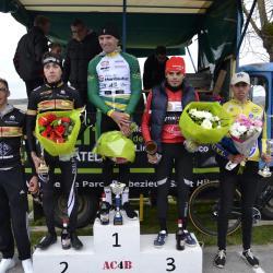 Le 18/03/2017 Mickaël Larpe (US Montauban 82) a remporté ce samedi le Grand Prix de Ladiville (16) encore 2 ème Clément Saint-Martin (Angoulême VC)......