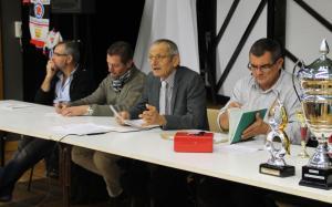 Le president bernard angibaud a ouvert une assemblee generale devant un beau parterre de licencies 1