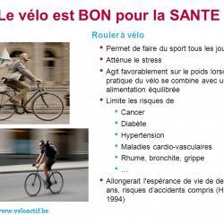 Le vélo, c'est bon pour la santé (et le moral !)