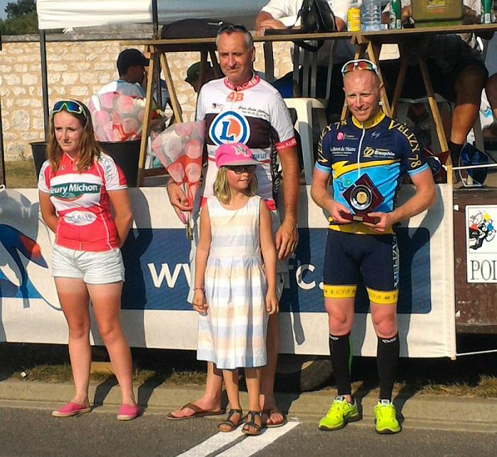 Le 15 août 2016   PLASSAY(17) Victoire de Jean-Christophe Nadon (AC4B) en D2 et 3 ème auscratch et Philippe Nadon (AC4B) 4 ème en D2  et 6 ème Corentin Nadon(AC4B) en 2-3-j
