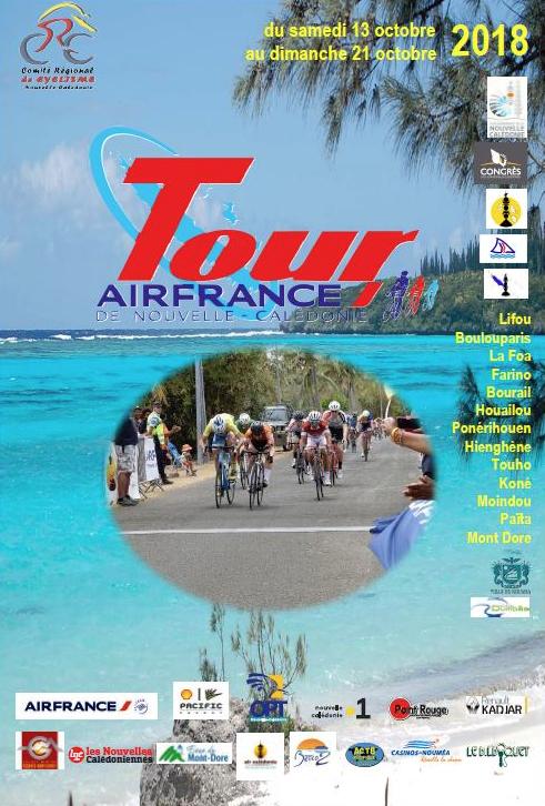 48ème Tour cycliste Air France de Nouvelle-Calédonie.