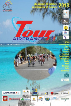 Tour cycliste air france affiche oct2018