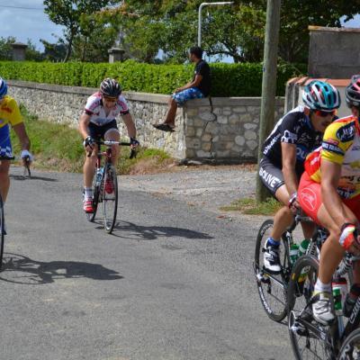 Tour du Bougeais le 24/08/2012