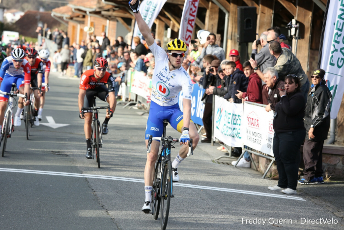 Le 09/02/2019    Ep. 4 : Ronde du Pays Basque - Saint-Jean-Pied-de-Port   34 ème Gari LAGNET OCEANE TOP 16 / AC4B