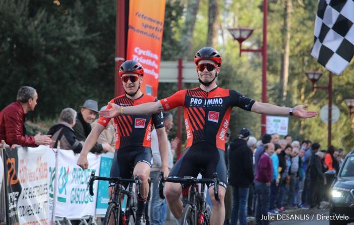 Le 01 Février 2020    Les Boucles de l'Essor (64 )      Karl-Patrick Lauk (Team Pro Immo Nicolas Roux) a remporté, ce samedi, les Boucles de l'Essor (Elite Nationale), première épreuve de l'Essor Basque.   15 ème Gari LAGNET (S1*) OCEANE TOP 16 / AC4B   ,  23 ème Alexis DILIGEART (S1) OCEANE TOP 16 / AC4B