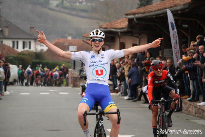 Le 08/02/2020    La Ronde du Pays Basque Saint-Jean-Pied-de-Port (64)     38 ème Gari LAGNET   OCEANE TOP 16 / AC4B