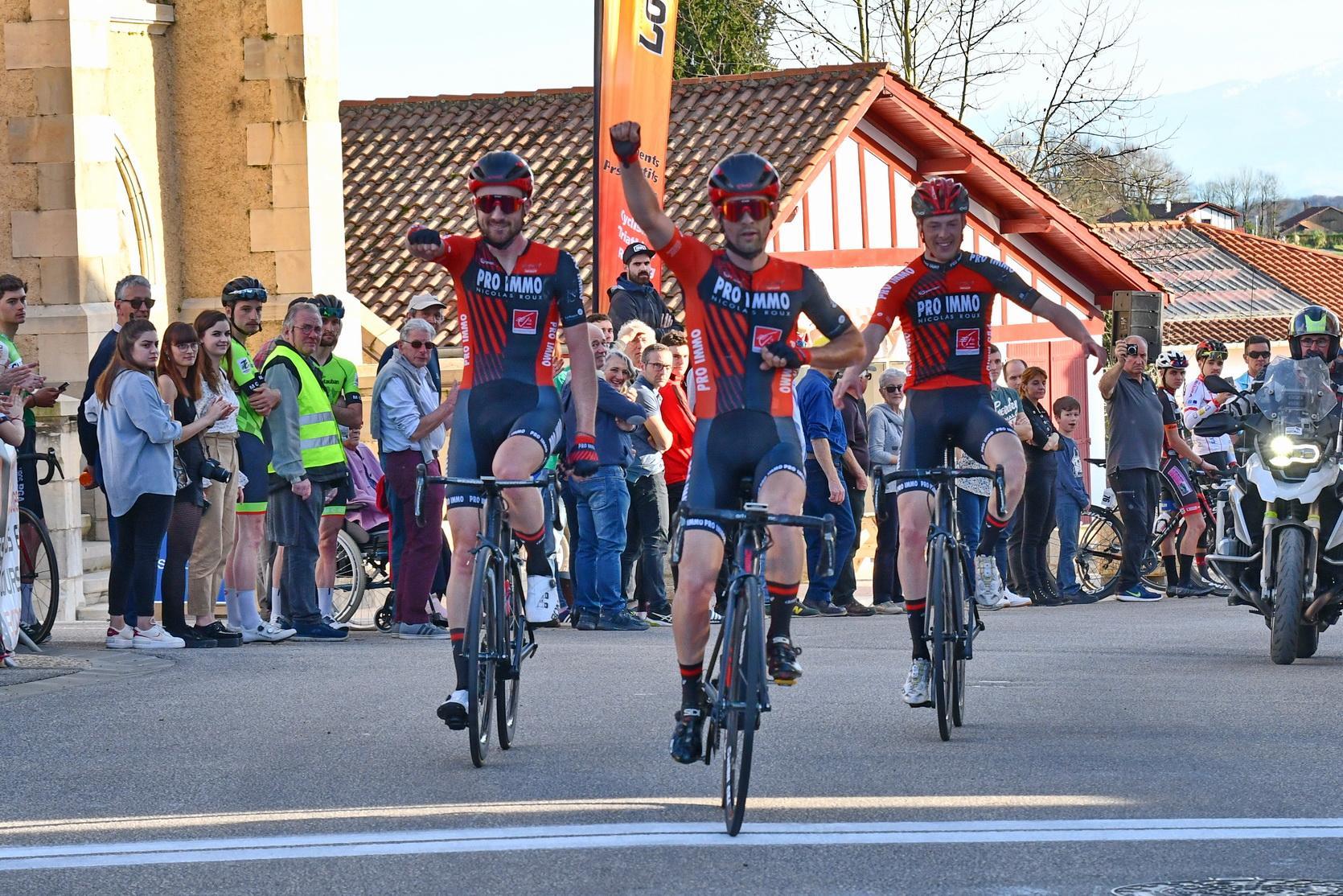Le 02 Février 2020    Le Circuit de l'Essor   Boris Orlhac (Team Pro Immo Nicolas Roux) a remporté, ce dimanche, le Circuit de l'Essor (Elite Nationale)     20 ème  Alexi DILIGEART (S1) OCEANE TOP 16 / AC4B