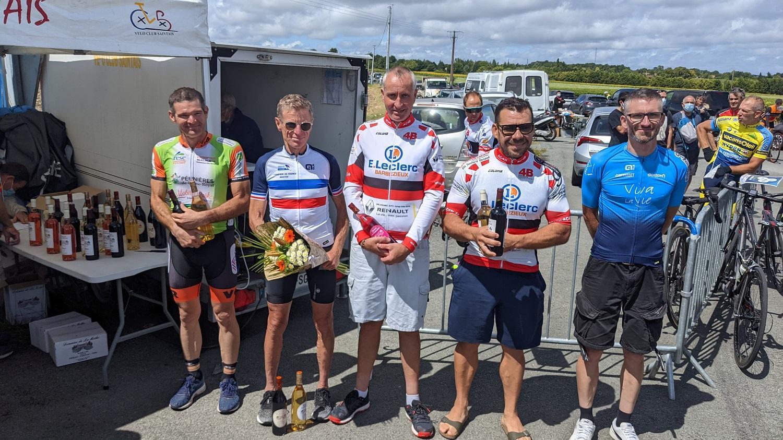 Le 07/08/21  SAINTES - PC    En D3/D4 :  3 ème Jean-Christophe Nadon,   4 ème Guillaume Boisumeau